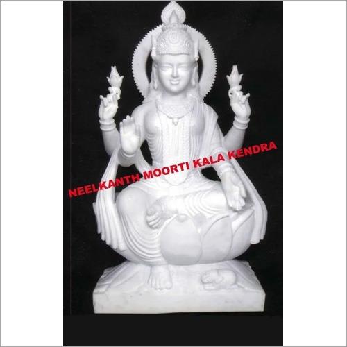 Marble Dhan laxmi statue