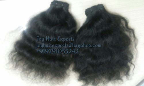 Machine Weft Curly