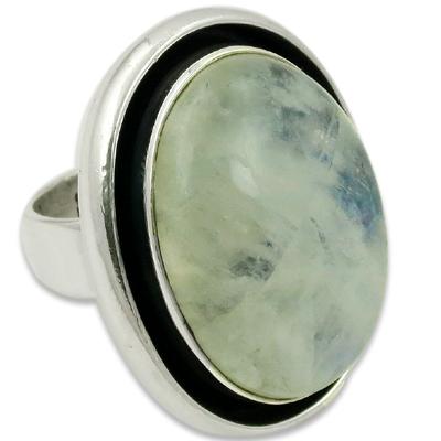 Rainbow Moon Natural Gemstone Sterling Silver Jewellery