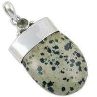 Drop Stylist Sterling Silver Pendant Jewellery