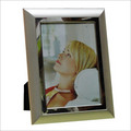 Matt/Shiny Silver Plated Photo Frame