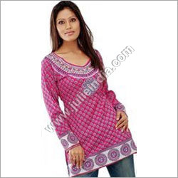 Georgette Ladies Kurtis
