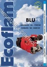 Ecoflam Burner BLU 120, 170, 250, 350...
