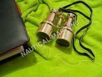 NAUTICAL BRASS BINOCULAR