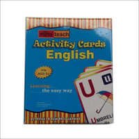 English Activity Cards