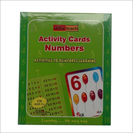 Activity Cards Numbers