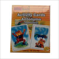 Activity Cards Opposites