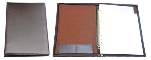 4 Ring Document file with writing Pad