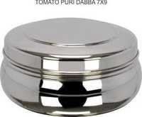 Tomato Puri Dabba