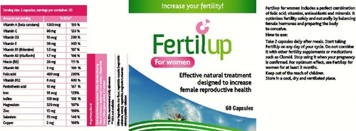 Fertility Capsules for Women