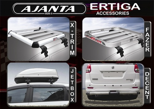 ERTIGA ACCESSORIES, ERTIGA REAR GUARDS, ERTIGA CARRIERS