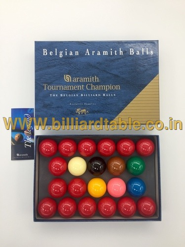 Aramith Tournament Champion Snooker Ball