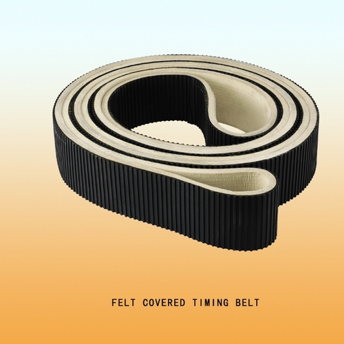 Felt Covered Timing Belt