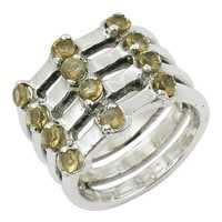 Citrine Gemstone Ring Wholesale Jewellery