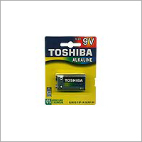 Toshiba Alkaline 9V Battery