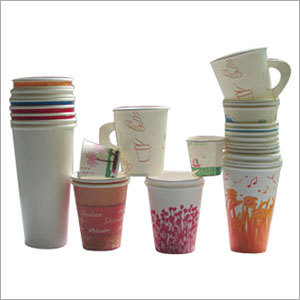 Disposable Plain Paper Cups