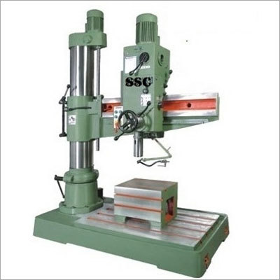 50mm cap All Gear Radial Drilling Machinery