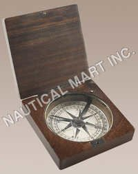 NAUTICAL LEWIS AND CLARK COMPASS.