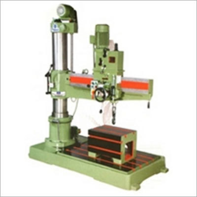 All Gear Radial Drilling Machine with 40mm cap
