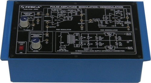 Pulse Amplitude Modulation and Demodulation (PAM)