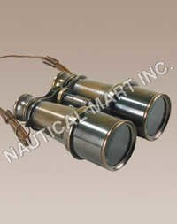 NAUTICAL VICTORIAN BRONZE BINOCULARS
