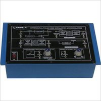 Differential Pulse Code Modulation and Demodulation Trainer