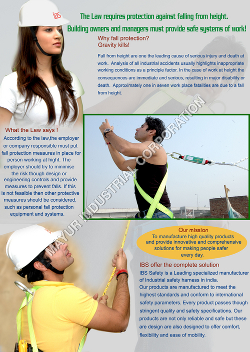 IBS Safety Harness & Belts