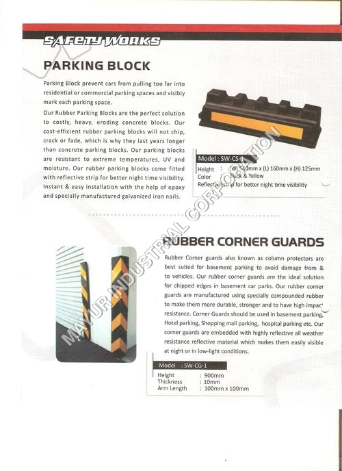 Parking Guards / Rubber Corner Guards