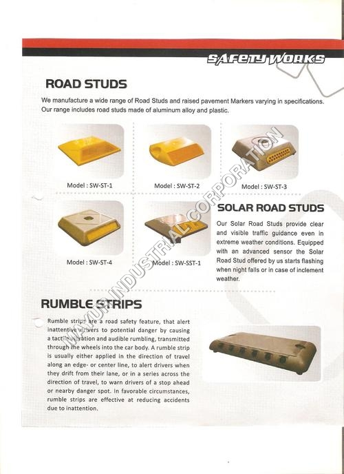 Road Studs / Rumble Strips