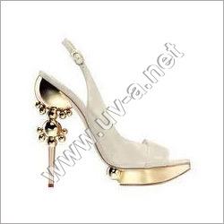 Shoe Heels Vacuum Metallizing
