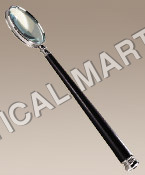 NAUTICAL NICKEL MAGNIFYING GLASS.