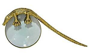 NAUTICAL brass magnifier