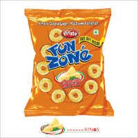 Cheese Flavour Ring Shaped Snacks