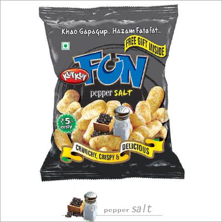 Pepper Salt Flavour Snacks