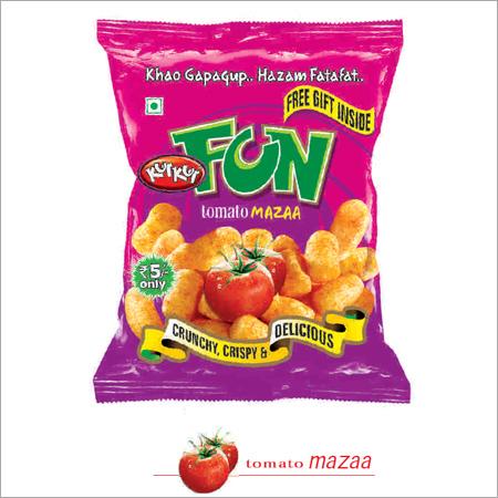 Tomato Flavour Snacks