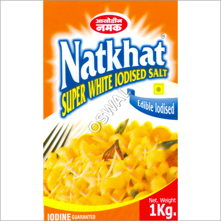 White Iodized Salt