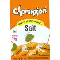 Super White Iodized Salt