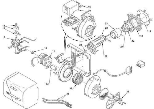 Riello Bunrer and spare parts