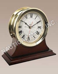 NAUTICAL CAPTAIN'S CLOCK
