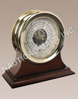 NAUTICAL CAPTAIN'S BAROMETER..