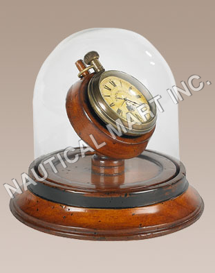 NAUTICAL VICTORIAN DOME WATCH..