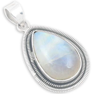 Designer Rainbow Moonstone Gemstone Jewellery
