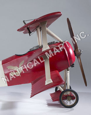 NAUTICAL FOKKER TRI-PLANE , MEDIUM