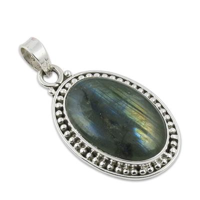 Labradorite Gemstone Pendant Jewellery