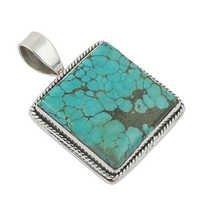 Turquoise  Gemstone Pendant Jewellery