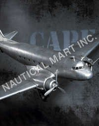 NAUTICAL DAKOTA DC-3 PLANE..