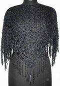 Black Crochet Ponchos