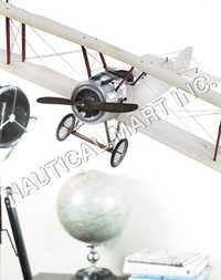NAUTICAL SOPWITH, LARGE TRANSPARENT PLANE..