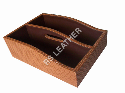 Leatherette Shoe Tray