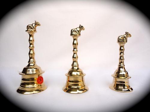 Brass Nandi bells/Pooja bells